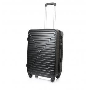 Βαλίτσα σκληρή RCM 8068/60 Μεσαία Μαύρο