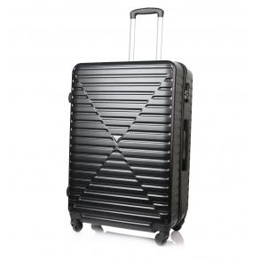 Βαλίτσα σκληρή RCM 8068/70 Μεγάλη Μαύρο