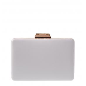 Τσάντα Clutch 4Queens UA5671A0 Λευκό