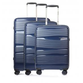 Σετ 3 βαλίτσες TRAVELITE Motion Μπλε