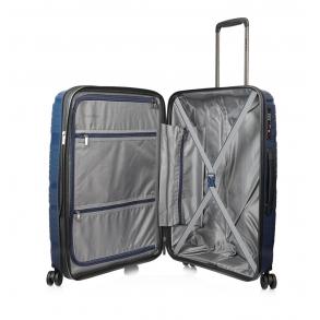 Βαλίτσα σκληρή TRAVELITE Motion 74940/60 Μεσαία Μπλε