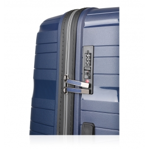 Βαλίτσα σκληρή TRAVELITE Motion 74940/70 Μεγάλη Μπλε