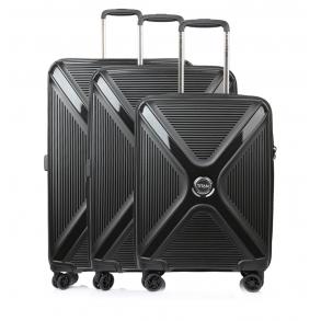 Σετ 3 βαλίτσες TITAN Paradoxx 833404 Μαύρο