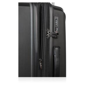 Βαλίτσα σκληρή TITAN Paradoxx 833404/60 Μεσαία Μαύρο