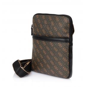 Τσάντα GUESS Vezzola HMVEZZP0424 Καφέ