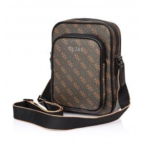Τσάντα GUESS Vezzola HMVEZZP0426 Καφέ
