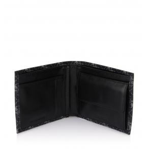 Πορτοφόλι GUESS Vezzola SMVEZZPOL20 Μαύρο