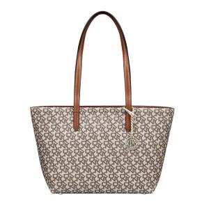 Τσάντα DKNY R74AJ014 Μπεζ με Ταμπά