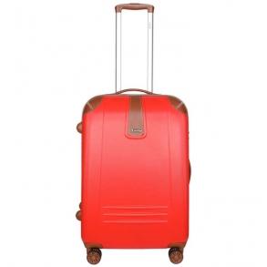 Βαλίτσα σκληρή DIELLE 155/60 Μεσαία Κόκκινη