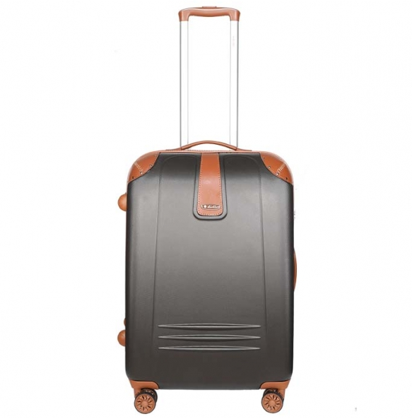 Βαλίτσα σκληρή DIELLE 155/60 Μεσαία Γκρι