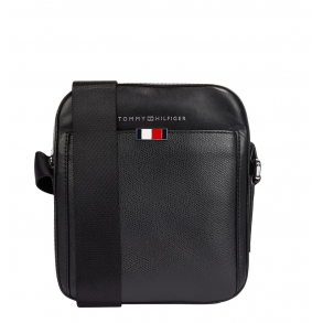 Τσάντα TOMMY HILFIGER 6867 Business Mini Reporter Μαύρο