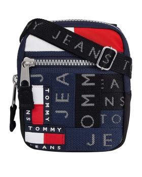 Τσάντα TOMMY HILFIGER 7514 Badge Colour-Blocked Backpack Μπλε