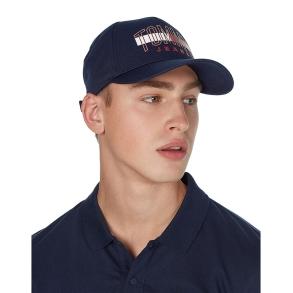 Καπέλο TOMMY JEANS 7523 TJM Graphic Cap Μπλε