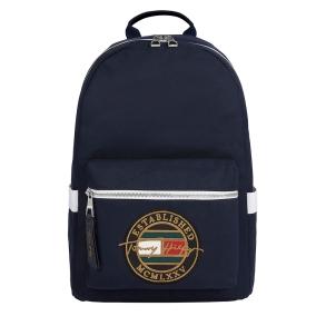 Σακίδιο TOMMY HILFIGER 7575 TH Signature Logo Embroidery Μπλε