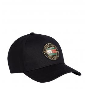 Καπέλο TOMMY HILFIGER 7607 TH Patch Signature Μαύρο