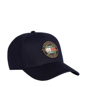 Καπέλο TOMMY HILFIGER 7607 TH Patch Signature Μπλε