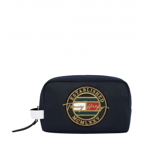 Νεσεσέρ Tommy Hilfiger 7635 TH Signature Washbag Μπλε