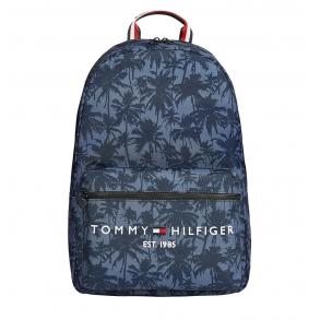Σακίδιο TOMMY HILFIGER 7642 TH Established Palm Print