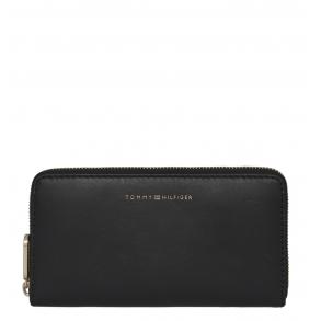 Πορτοφόλι TOMMY HILFIGER 8900 Soft Turnlock Μαύρο