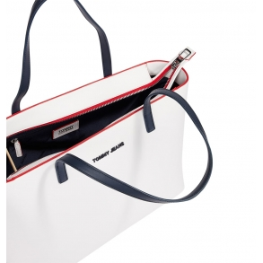 Τσάντα TOMMY JEANS 9729 Femme Λευκό