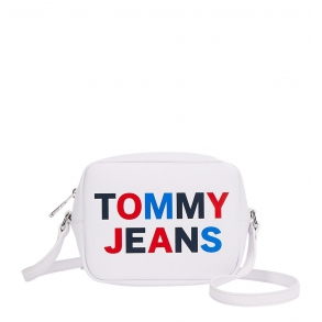 Τσάντα TOMMY JEANS 9853 TJW Tonal Camera Bag Λευκό