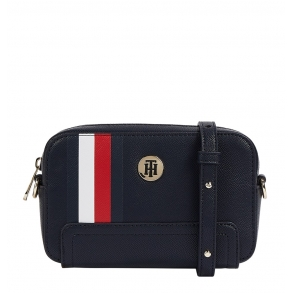 Τσάντα TOMMY HILFIGER AW0AW10042 Honey Camera Cag Μπλε