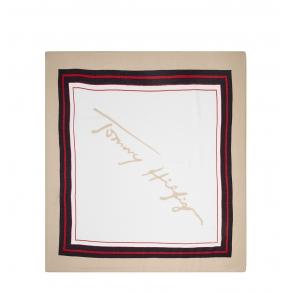 Φουλάρι TOMMY HILFIGER 10257 Signature Square Πολύχρωμο