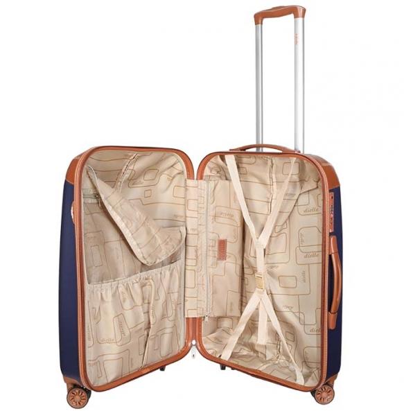 Βαλίτσα σκληρή DIELLE 155/60 Μεσαία Μπλε
