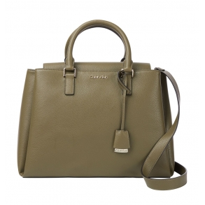 Τσάντα CALVIN KLEIN K60K608243 Λαδί