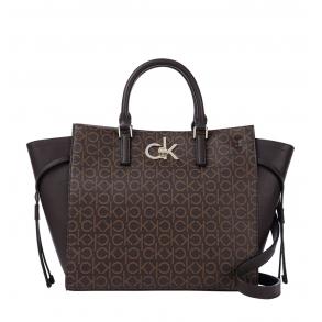 Τσάντα CALVIN KLEIN K60K608314 Καφέ