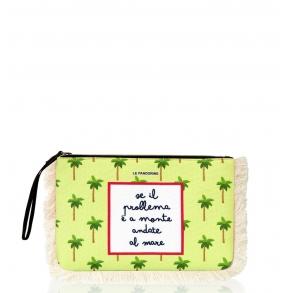 Τσάντα LE PANDORINE PE21DBH02803 Marina Pochette Κίτρινο